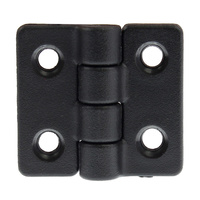 Black nylon hinge 316 stainless steel pin