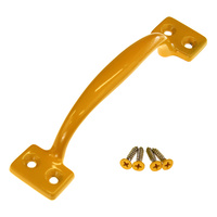 D pull handle 4 hole yellow