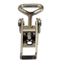 AS-701 Non locking stainless steel over centre fastener with AS-30SS catchplate