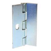 1 hole orbit hinge 50mm height X 32mm open X 1.2mm thick zinc plated AS-AD5032