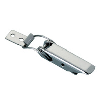 AS-CS-22 Stainless steel draw latch with catch plate.