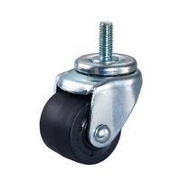 Heavy duty castor wheel black AS-GN-A25202