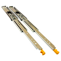 Heavy Duty 227kg Drawer Slides (Locking)