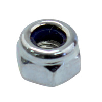 M3 zinc plate nylon nut for actuator bracket
