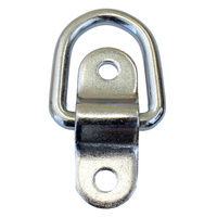 NS169ZP Small 2 piece lashing ring zinc plate tie down